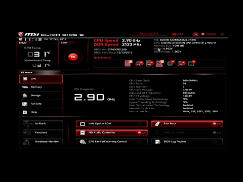 MSI B250M Mortar Motherboard Review Part 2