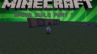 How to Build an Amazing House (Minecraft Speed Build) Part 1 FIRST FLOOR