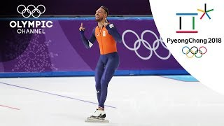 Kjeld Nuis also takes the 1000m Speed Skating gold | Day 14 | Winter Olympics 2018 | PyeongChang