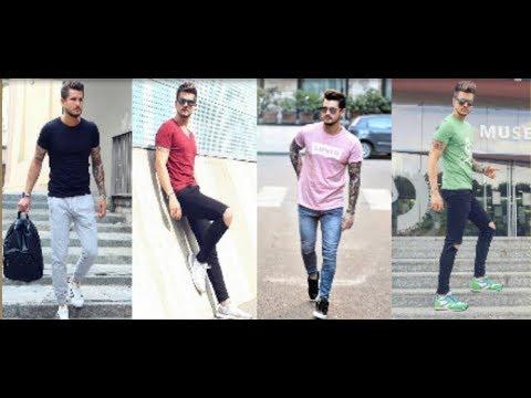 Men's Summer Fashion Inspiration Lookbook 2019   Latest Men's T-Shirt &  Pant Style 2019   PBL