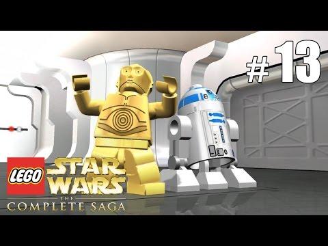 Лего Звёздные Войны игра Star Wars Force Builder. Спасательная капсула дроидов. Летсплей. Картонка