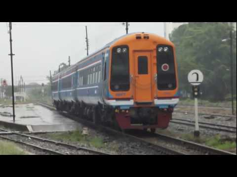State Railway of Thailand DMU train Evolution part 2 - Sprinter and Daewoo