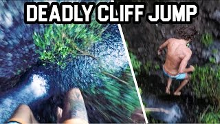 MOST INSANE PRECISION CLIFF JUMPS  [5K]  Happy New Year!!