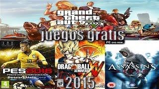 Video Como descargar juegos para pc gratis y completos en español 2015 download MP3, 3GP, MP4, WEBM, AVI, FLV Desember 2017