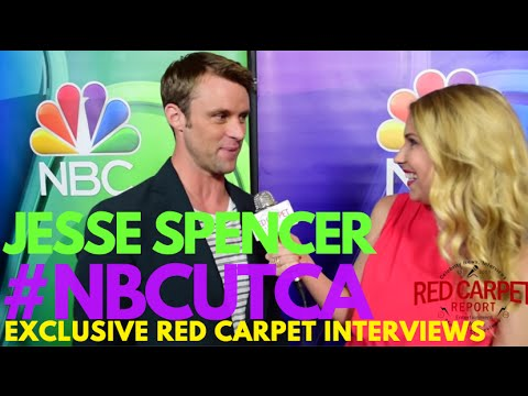 Interview with Jesse Spencer #ChicagoFire at NBCUniversal's Summer Press Tour #NBCUTCA #TCA16