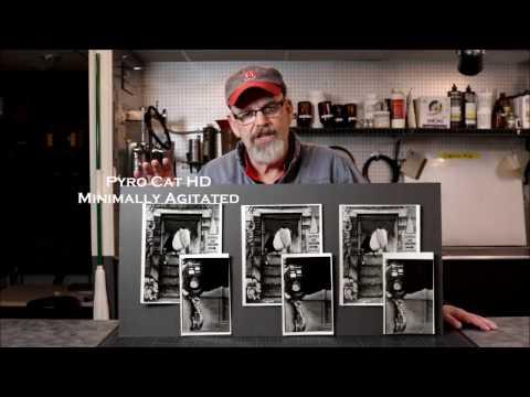 Steve Sherman Power Of Process Workshops Pyro Cat HD HC110 Comparison