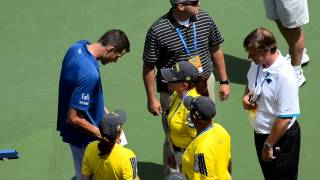 John Isner Signing Autographs at Tennis Championship