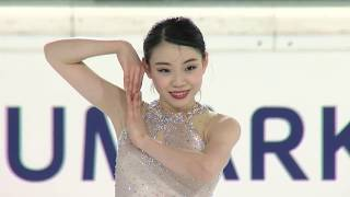 Rika KIHIRA JPN Ladies Short Program EGNA-NEUMARKT 2017