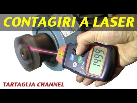 Contagiri laser per ricavare rpm incredibile basso costo alte prestazioni vediamolo in azione - Laser per piastrellisti ...