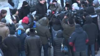 В Днепропетровске задержали 13 человек, пикетировавших горсовет(Подробнее читайте тут: http://vovremya.dp.ua/ Правообладатель видео: ТРК Регион., 2014-01-25T11:53:56.000Z)
