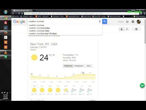 How to check weather forecast using Google Search page - Tips and Tricks
