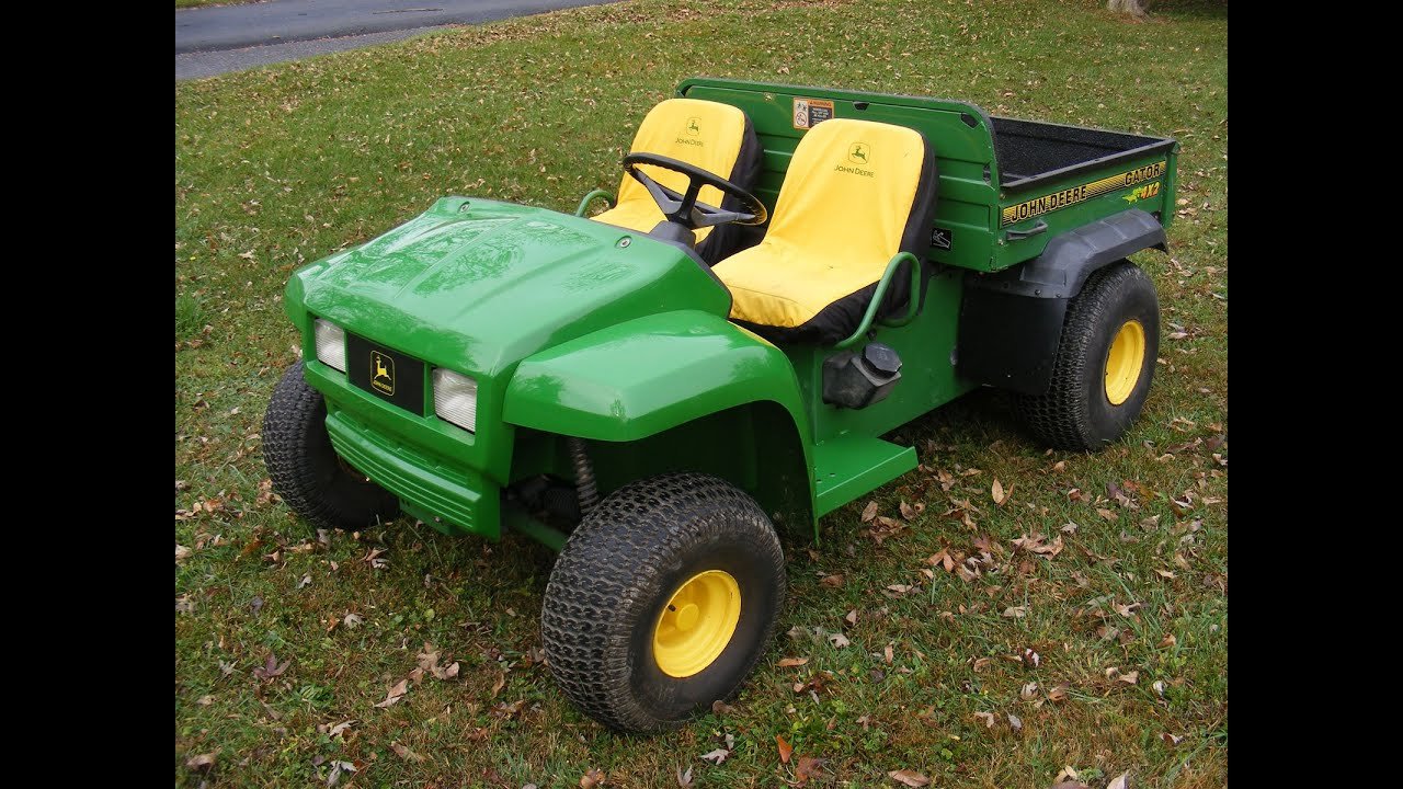 2006 john deere gator review heavily modified youtube. Black Bedroom Furniture Sets. Home Design Ideas