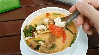 В Таиланд самостоятельно. Тайская кухня, суп том ям #36