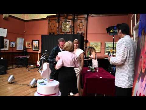 Silvie & Mitch - Glasgow Art Club - 20th June 2015