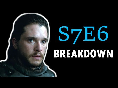 Game of Thrones Season 7 Episode 6 Breakdown - Beyond the Wall