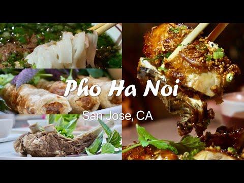 Pho Ha Noi, San Jose 湾区我最爱的越南餐厅 My favorite Vietnamese Restaurant in the Bay Area!
