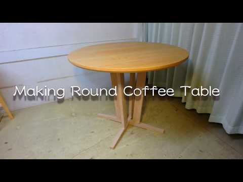 Making Round Coffee Table