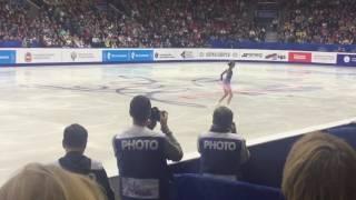 Евгения Медведева , Чемпионат России, Челябинск 24 декабря 2016 , 1 место