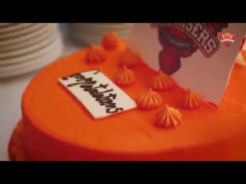 Sunrisers hyderabad SRH Victory party Celebration Vivo IPL 2018