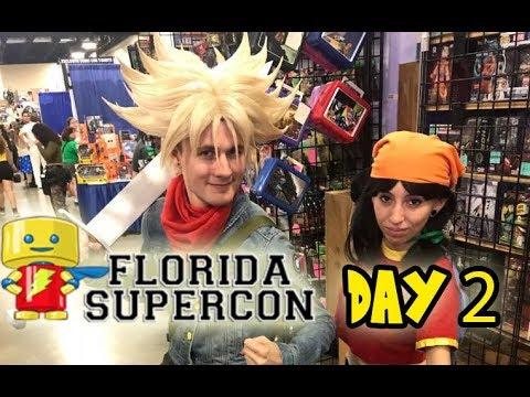 FLORIDA SUPERCON 2018 DAY 2 - Vlog #2!!!