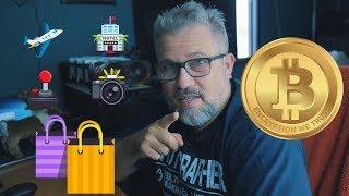 Usando Bitcoins para pagar suas contas e fazer compras!