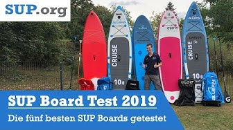 SUP Board Test 2019: Die 5 besten SUP Boards vorgestellt