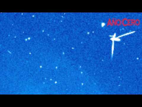 OVNI filmado por la sonda SOHO
