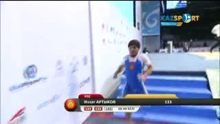 Чемпионат мира 2014: Изат Артыков (Кыргызстан), до 69 кг