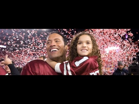 The Game Plan 2007 Movie -  Dwayne Johnson & Kyra Sedgwick