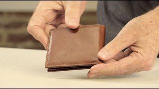 The Bi-Fold Wallet | Full-Grain Leather Billfold Wallet