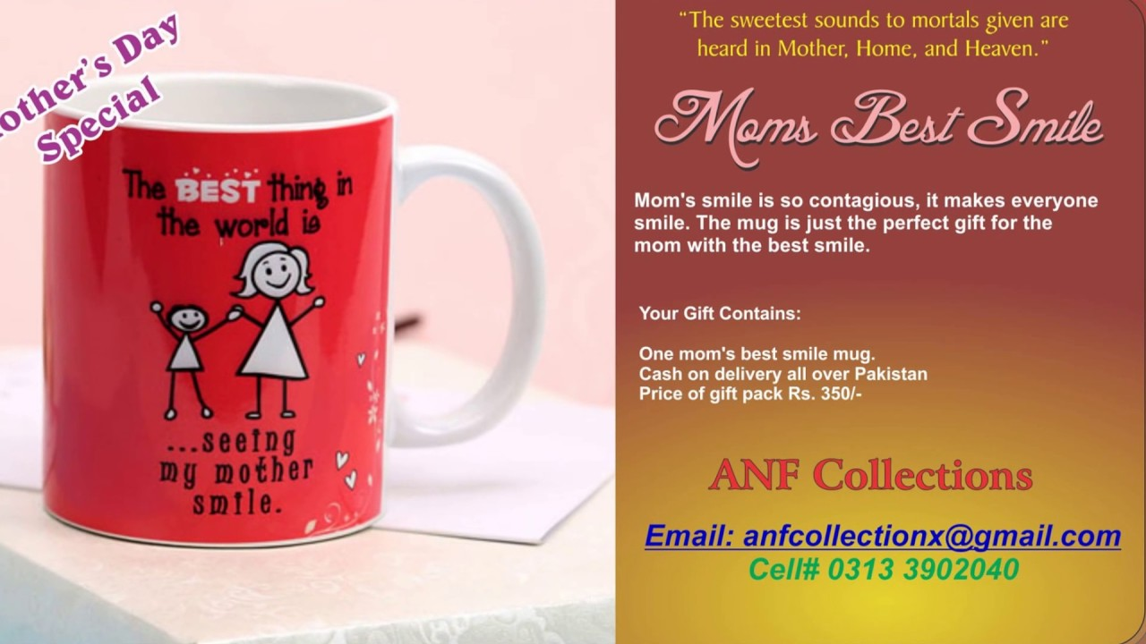 Mothers Day Special Gifts In Pakistan Youtube