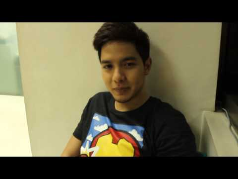 Alden Richards exclusive!