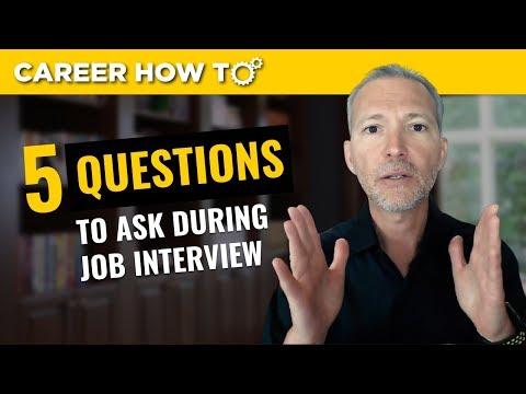 My Top Questions To Ask In Job Interview