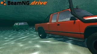BeamNG.drive - UNDERWATER TUG OF WAR