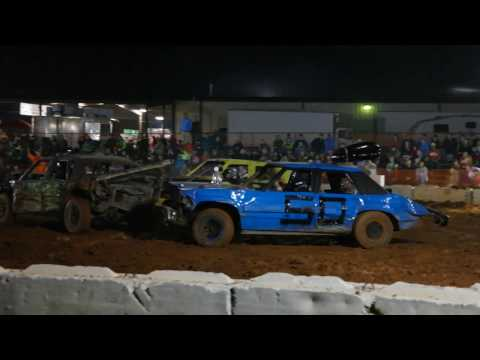 11/8/2016 Demolition Derby @ the Columbia County Fair.