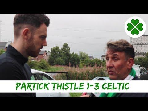 Partick Thistle 1-3 Celtic | Full-time Reaction