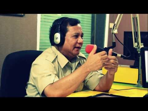 Dialog Radio Interaktif Prabowo Subianto - 28 September 2013