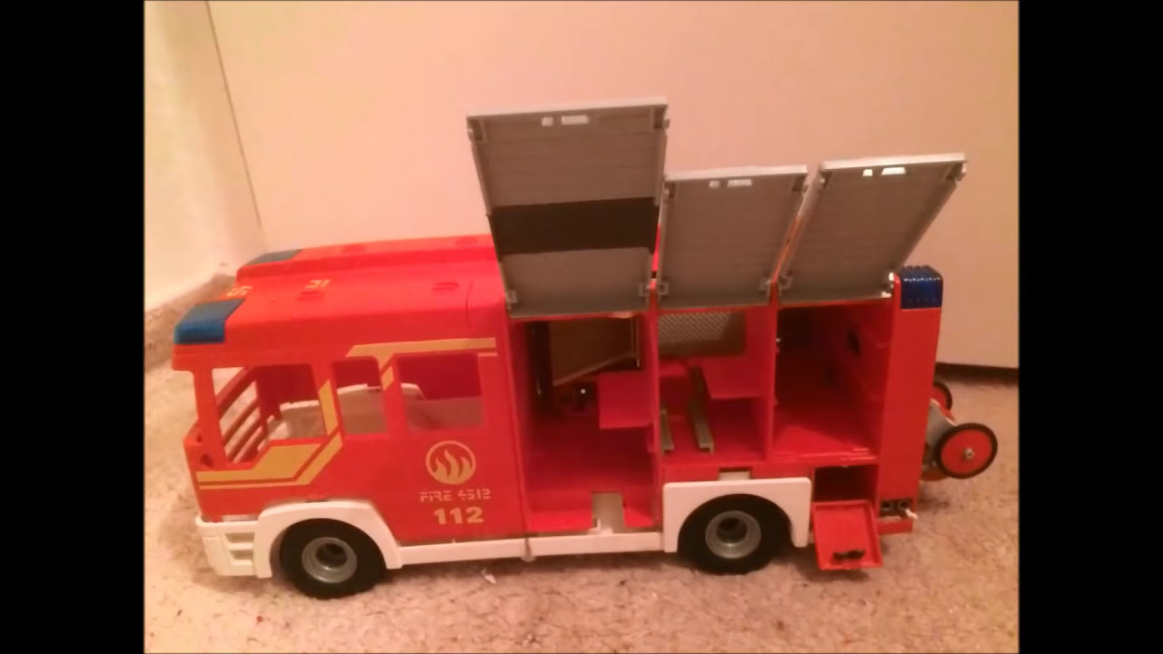 aus playmobil feuerwehrauto wird ein hlf20 youtube. Black Bedroom Furniture Sets. Home Design Ideas