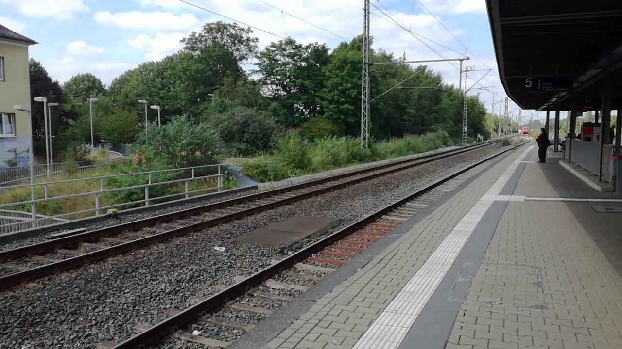 Durchfahrt Re11 Br425 Am S Bahnhof Duisburg Grossenbaum Youtube