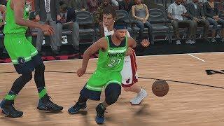 NBA 2K18 My Career - Ankle Breaker Badge Unlocked! PS4 Pro 4K Gameplay