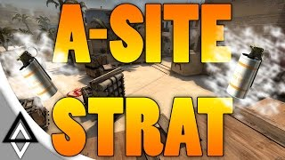 Mirage A Wall of Smokes Strategy / Execute - CSGO
