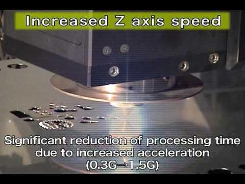 Mitsubishi Laser HVII-series Z-axis acceleration