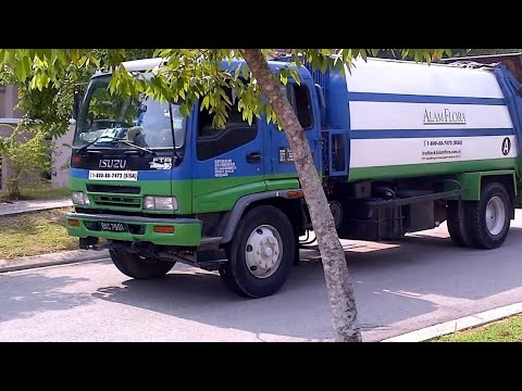 Alam Flora's Garbage Truck Part II (Malaysia) Travel Video