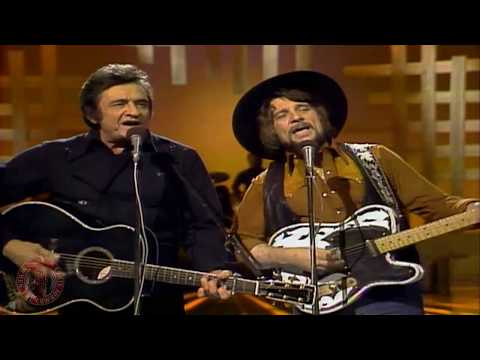Waylon Jennings And Johnny Cash - There Ain't No Good Chain Gang