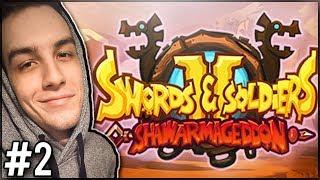 WSPÓŁPRACA Z TURBANAMI! - Swords and Soldiers 2 Shawarmageddon #2