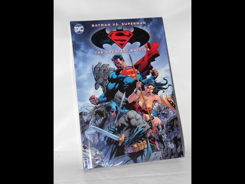 Batman v Superman: Dawn of Justice Bestbuy Exclusive Graphic Novel Ultimate Edition