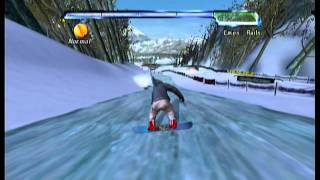 Let's Play Amped: Freestyle Snowboarding Part 7: Slopestyle