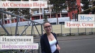 Центр Сочи. Лучшие инвестиции в недвижимость Сочи!!! АК Светлана Парк. Квартиры в центре Сочи!