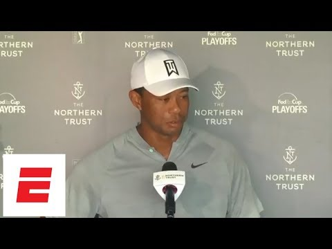 [FULL] Tiger Woods press conference on Northern Trust frustrations | ESPN