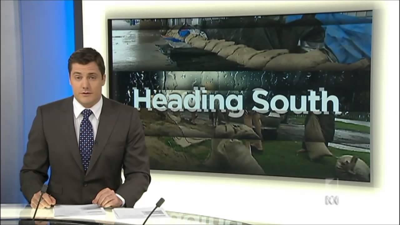 New ABC News Perth set (28/1/13)